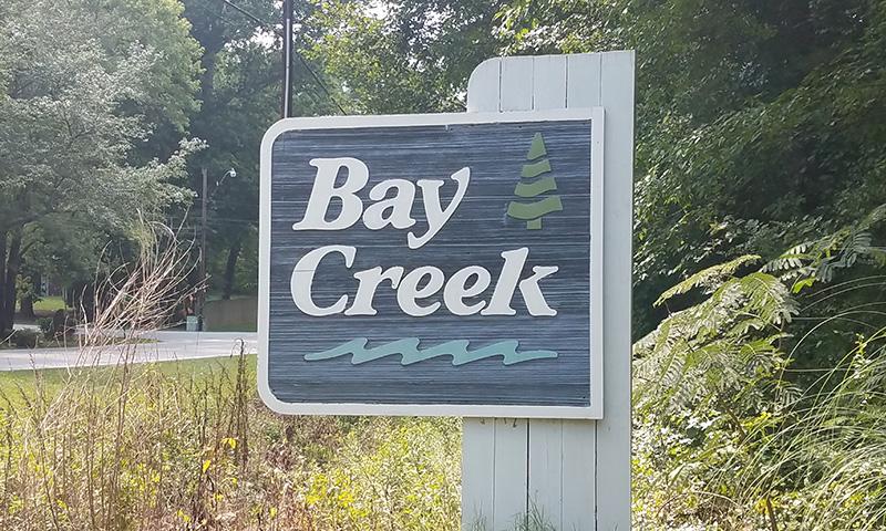 Hubbard Commercial Bay Creek Entrance