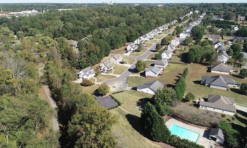 Bridgeport aerial