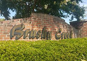Hubbard Commercial Brushy Creek Entrance