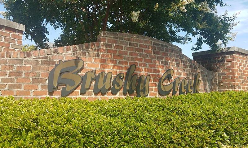 Bay Creek neighborhood entrance