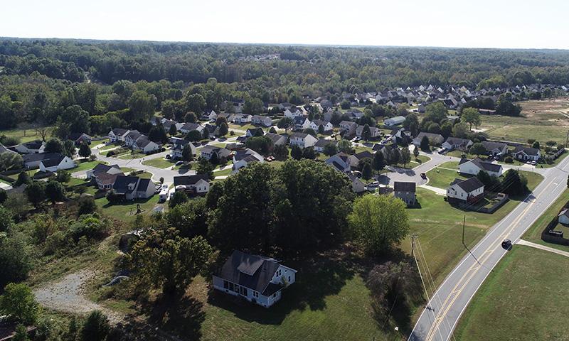 Dar Ridge aerial