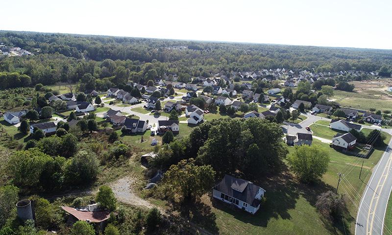 Dar Ridge Park aerial