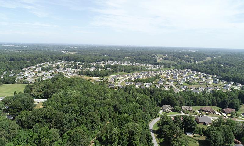 Hidden Creek aerial view