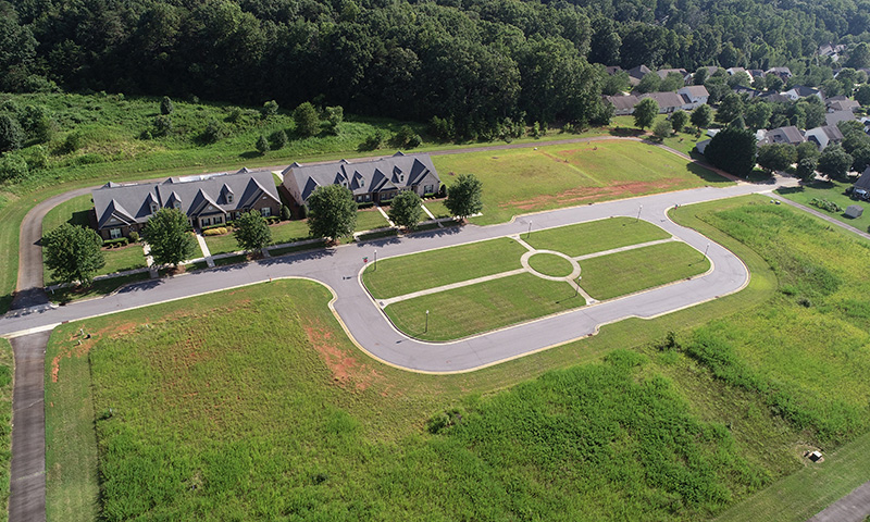 Hubbard-Commercial_Long-Creek-Village-Townhomes_Aerial-View_19-07