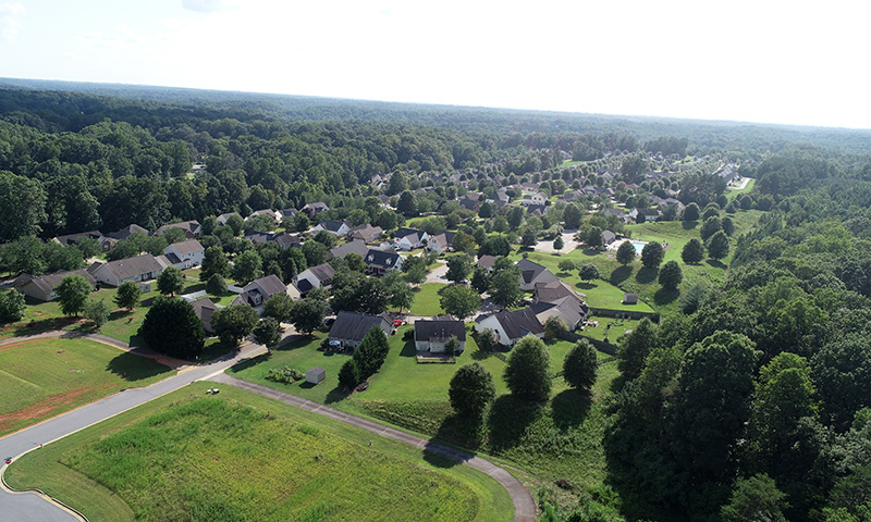 Hubbard-Commercial_Long-Creek-Village_Aerial-View_19-07