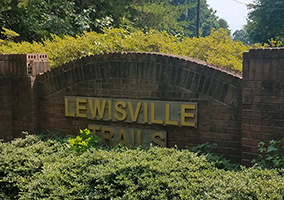 Hubbard Commercial Lewisville Trails Entrance