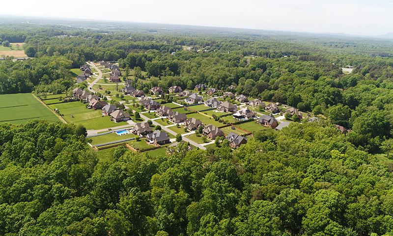 Olde Fields Aerial