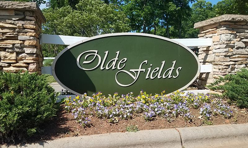 Olde Fields Entrance