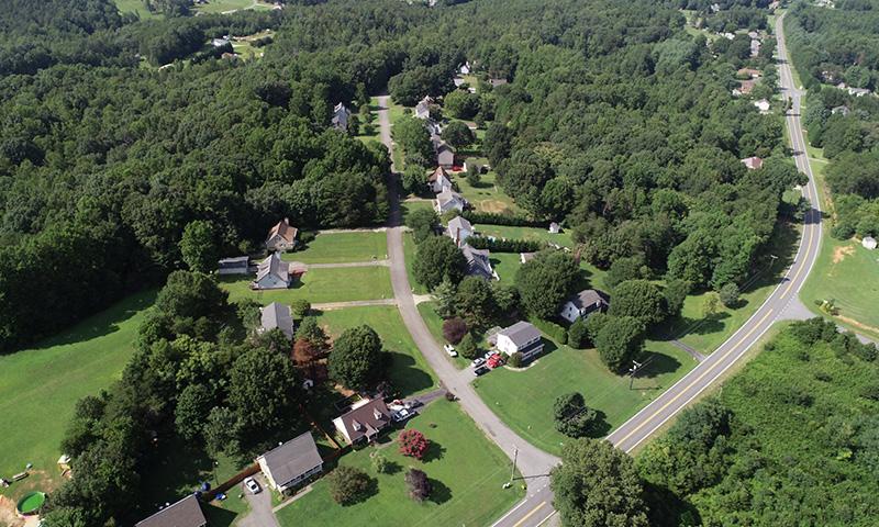 Ridgecliff Aerial View